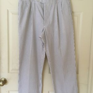 Jos. A. Bank blue white rouser Easter pants  35R